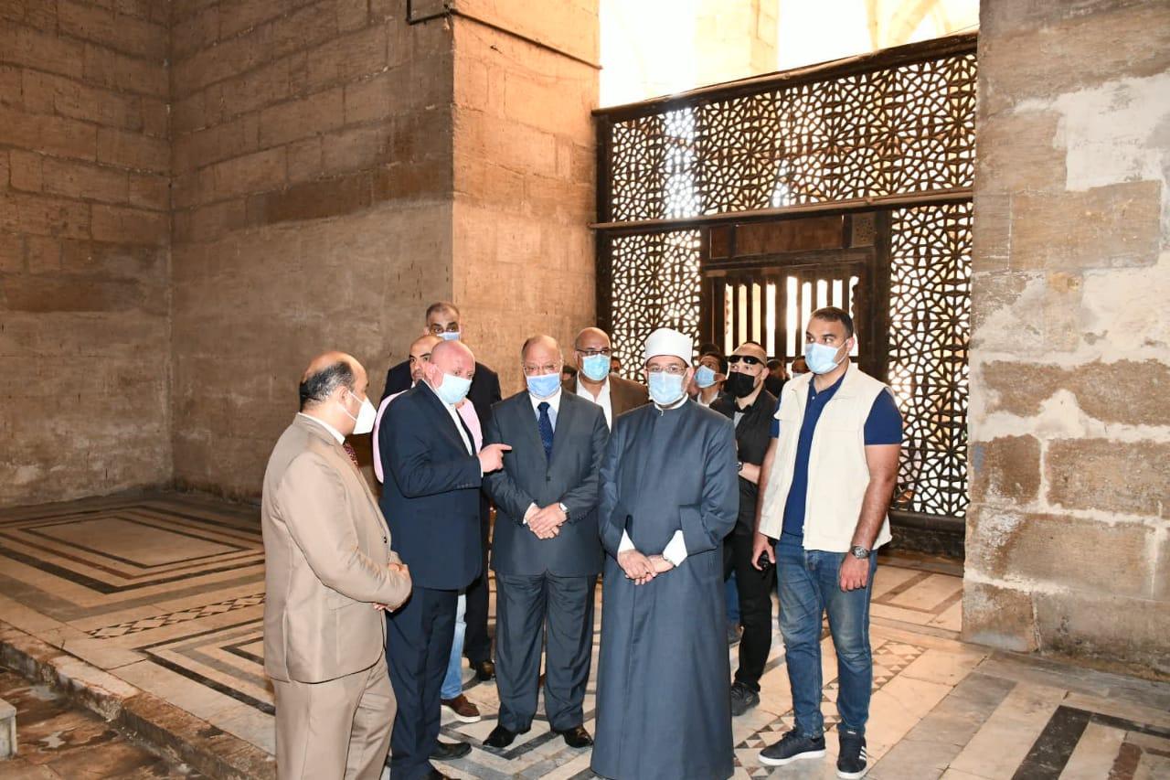 وزير الاوقاف ومحافظ القاهرة