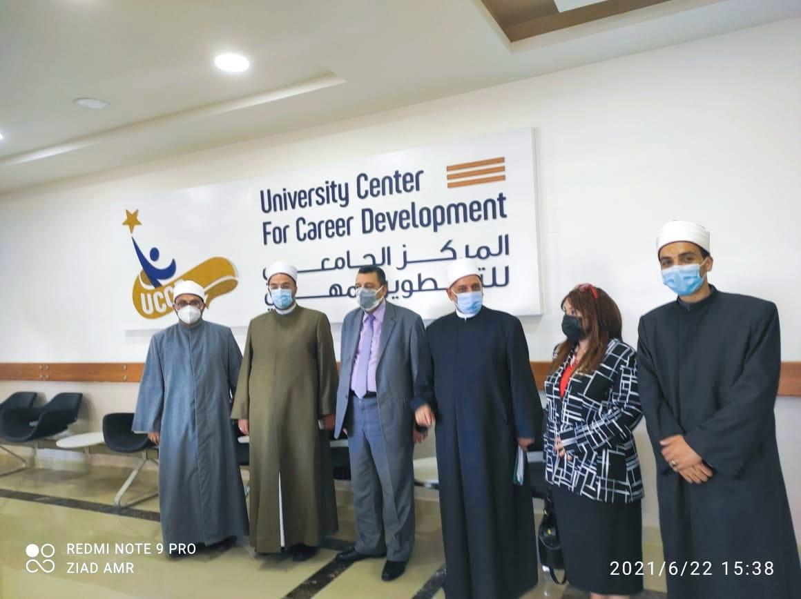 بدء تفعيل بروتوكول التعاون بين جامعة الاسكندرية ووزارة الاوقاف