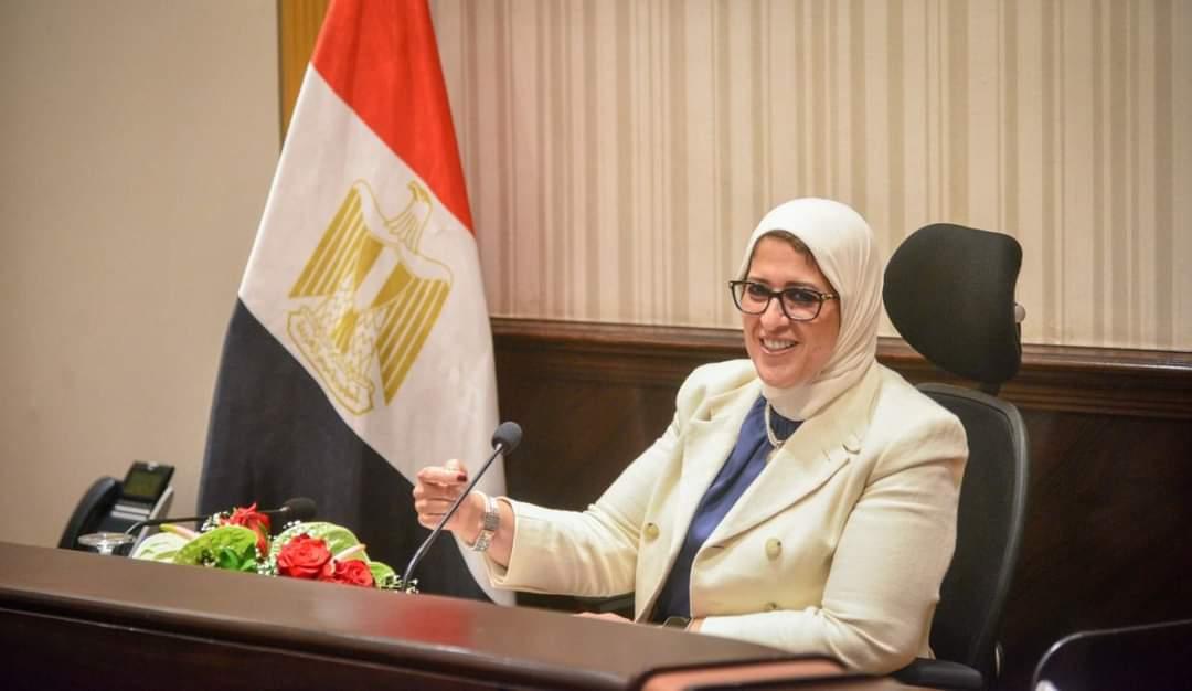 وزيرة الصحة: استقبال ٢٥٠ ألف جرعة من لقاح استرازينيكا بمطار القاهرة