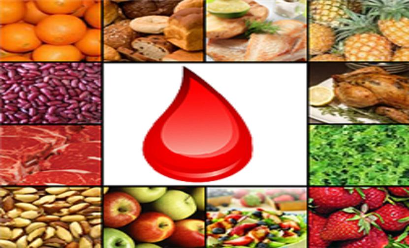 طعام لكل فصيلة دم