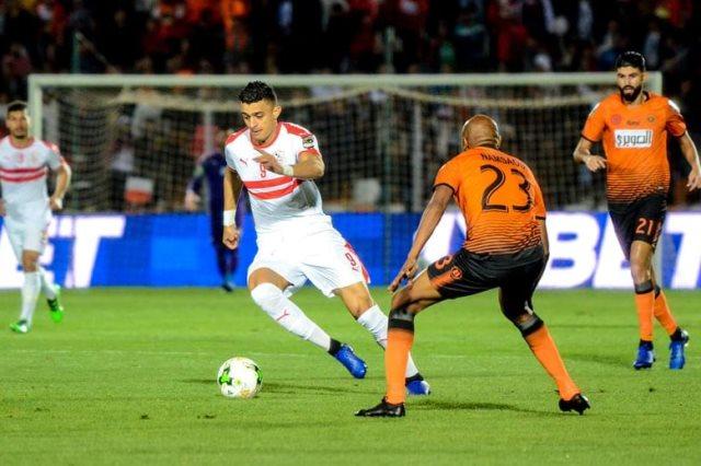 مشاهدة مباراة الزمالك ونهضة بركان المغربي