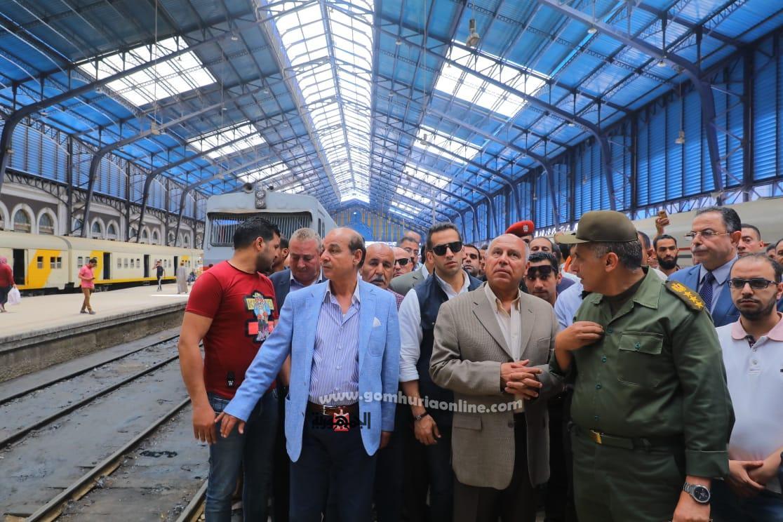 جولة كامل الوزيربمحطة سكة حديد الاسكندرية