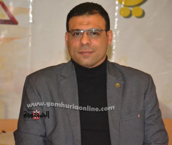 المهندس كريم عزت رئيس اللجنه الإجتماعية والثقافية بنقابة المهندسين الفرعية