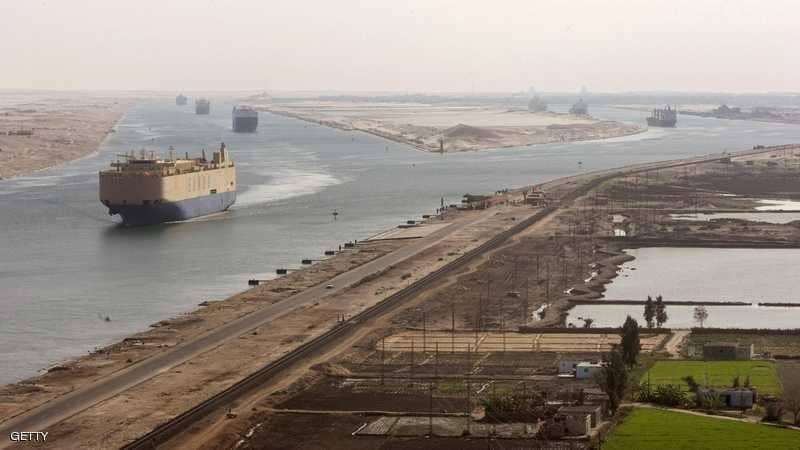 قناة السويس.. شراين اقتصادي عالمي- صورة من سكاى نيوز