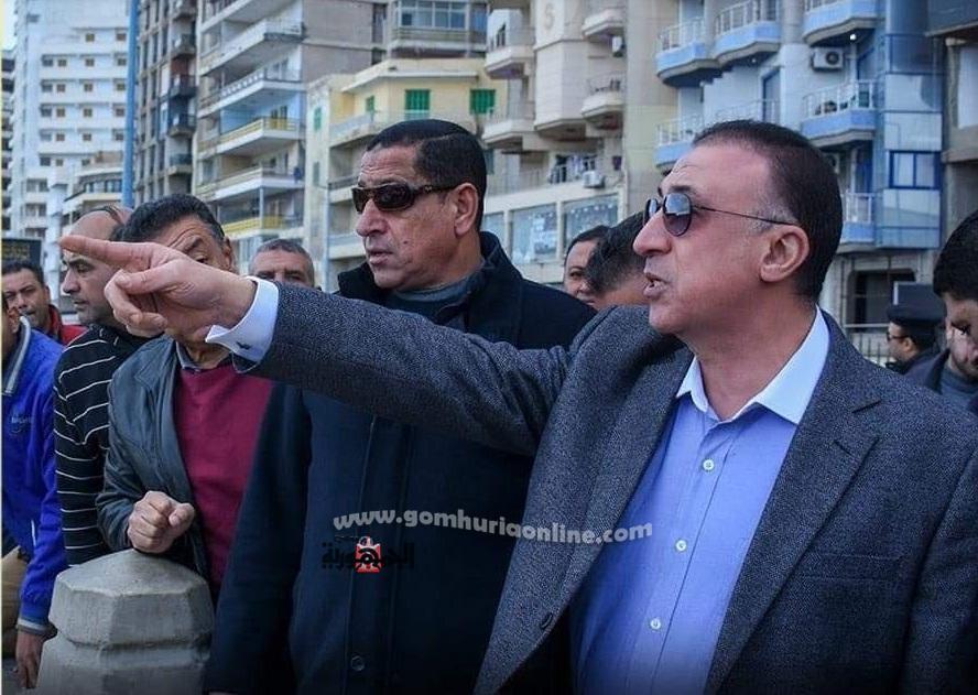 اللواء محمد الشريف يقرراغلاق الشواطئ امام السكندريين بسبب كورونا