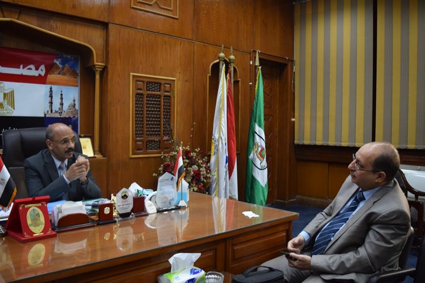 د. عبدالراضى عبدالمحسن مع عقيدتي