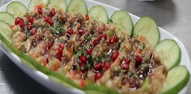 بابا غنوج من المطاعم الشامية