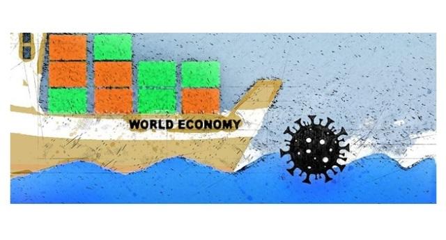 «لغم» كورونا يهدد «سفينة» مكتوب عليها «الاقتصاد العالمي»