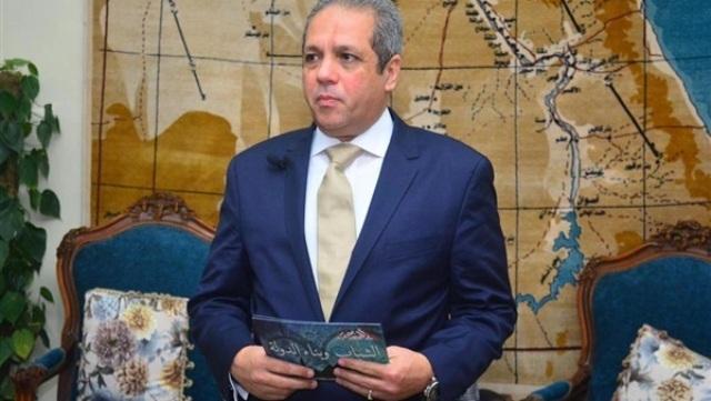 النائب أحمد حلمى الشريف رئيس الهيئة البرلمانية