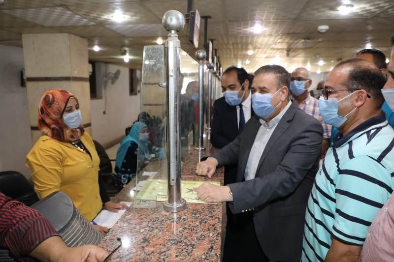محافظ المنوفية يتابع منافذ التصالح مع مخالفات البناء