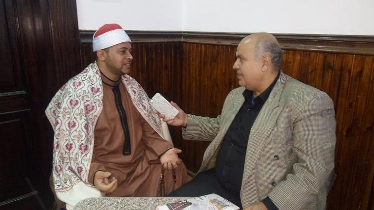 الشيخ هاني سعد في حديثه مع عقيدتي