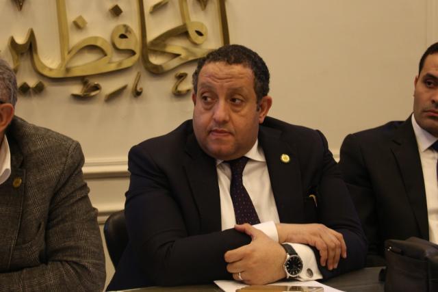 محمد عبدالغني عضو مجلس النواب