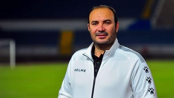 معتز البطاوي المدير الرياضي لنادي سيراميكا كليوباترا