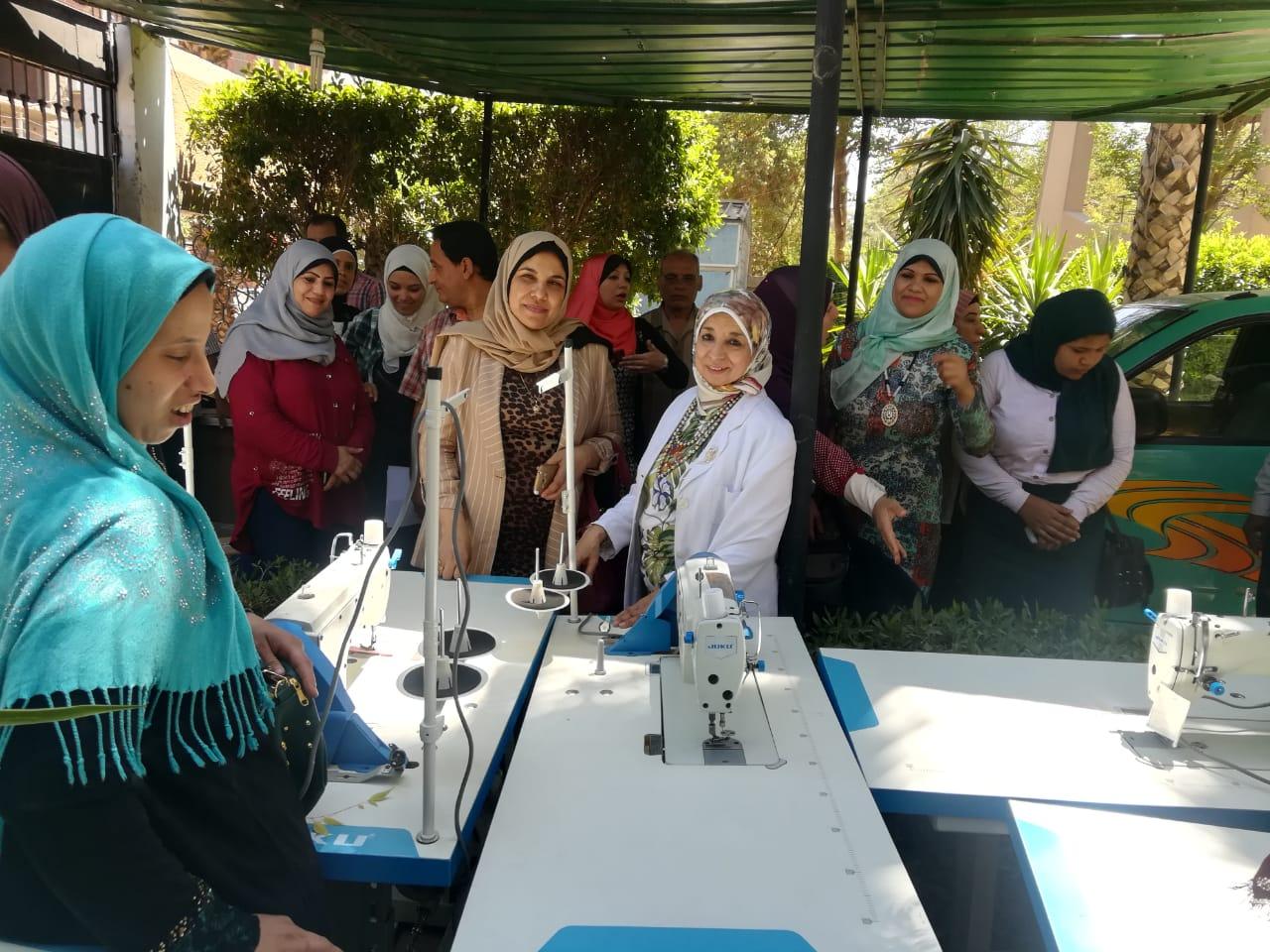 تضامن اسيوط تنفذ دورات للتمكين الاقتصادي للمرأة