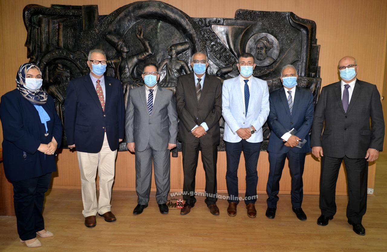 اتفاقية بين جامعة المنصورة وجامعة الدلتا