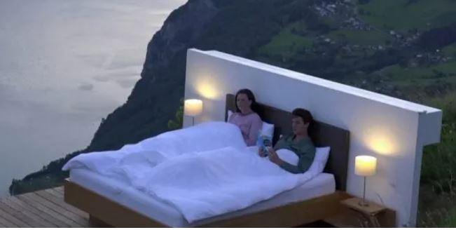 بلا سقف ولا جدران   فندق غريب على ارتفاع 1800 متر فوق سطح البحر -  الجمهورية أون لاي