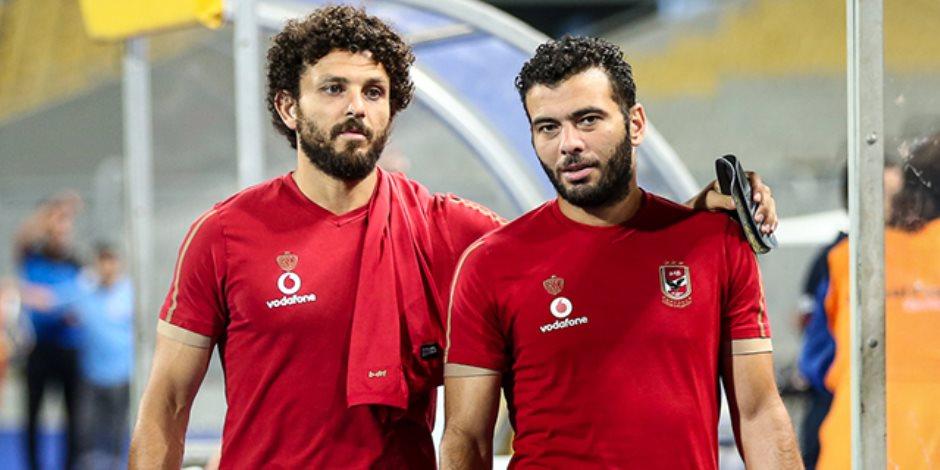 حسام غالي وعماد متعب
