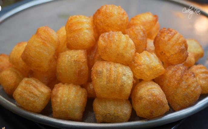فقاعات البطاطس
