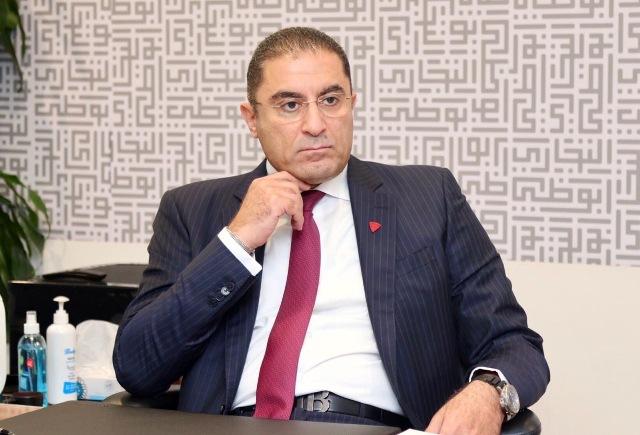 إيهاب السويركي العضو المنتدب والرئيس التنفيذي لبنك أبوظبي التجاري