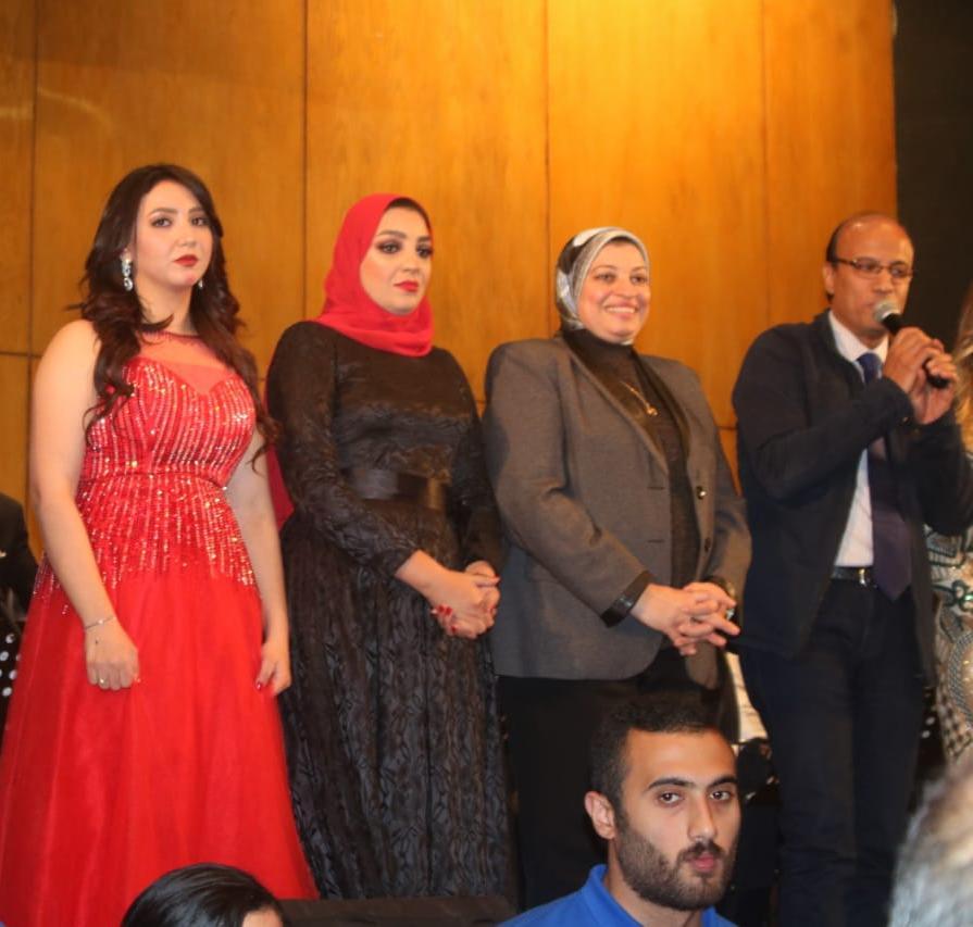 آيه عبد الله تتألق في حفل أوركسترا وزارة الشباب بنقابة الصحفيين