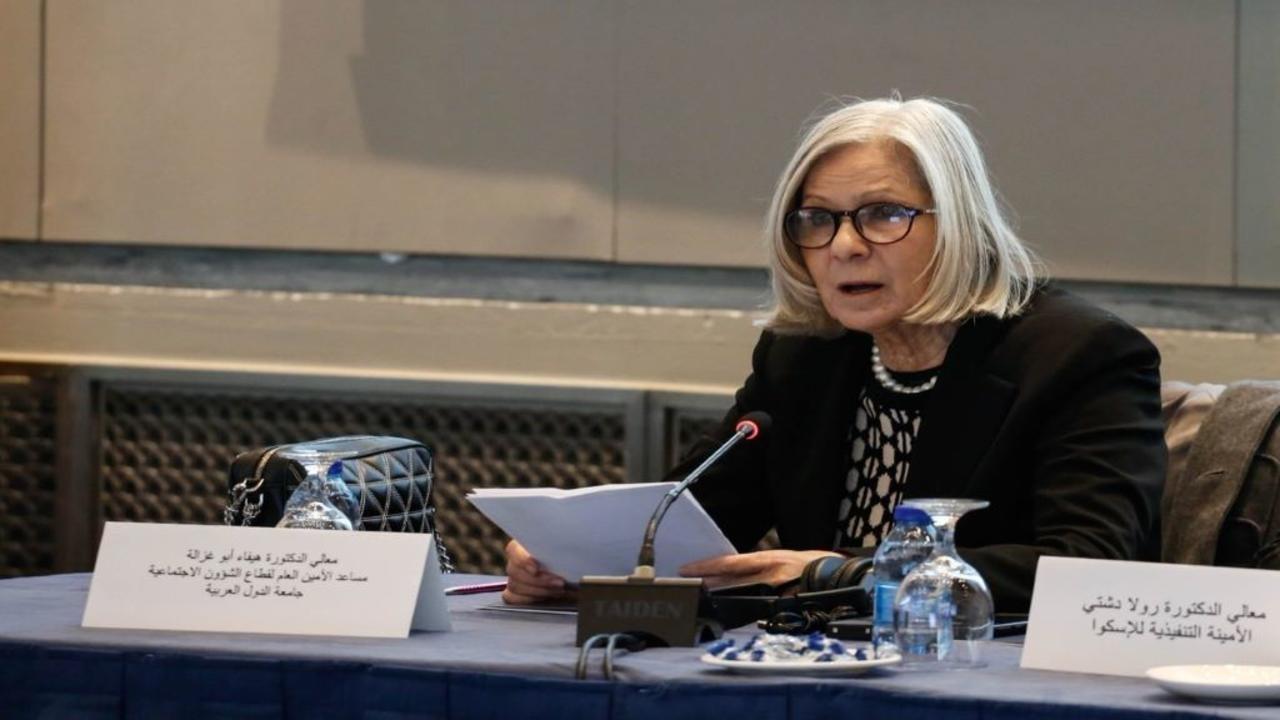 هيفاء أبو غزالة- الأمين العام المساعد رئيس قطاع الشؤون الاجتماعية بجامعة الدول العربية