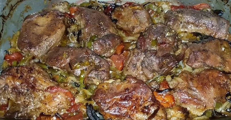 طاجن لحم فى الفرن
