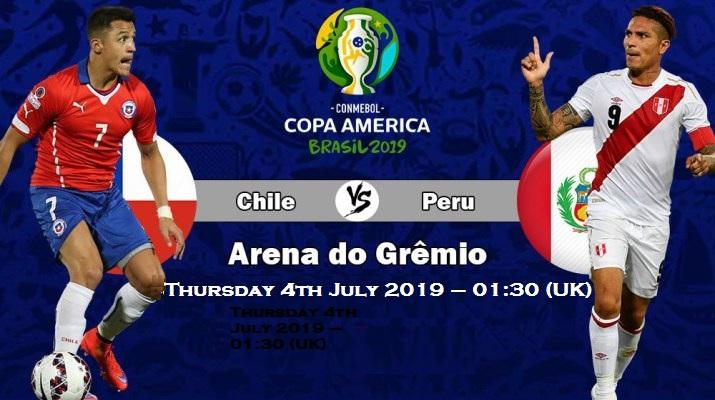 مشاهدة مباراة تشيلي وبيرو اليوم 4   7   2019