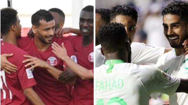 بث مباشر مباراة السعودية و قطر