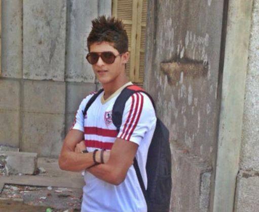 أحمد الشيخ بقميص الزمالك