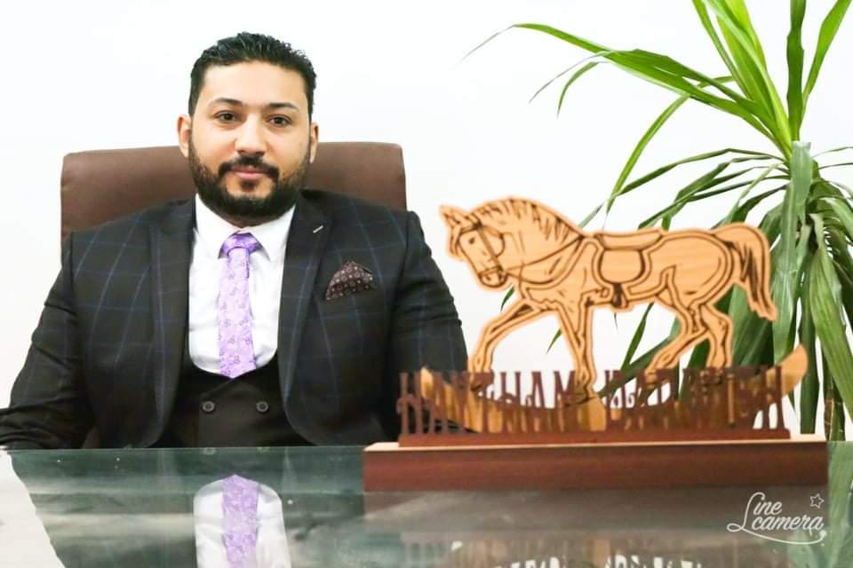 هيثم يوسف درويش- نائب رئيس مجلس إدارة المعاهد العليا كينج مريوط