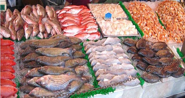فوائد الاسماك وفواكه البحر