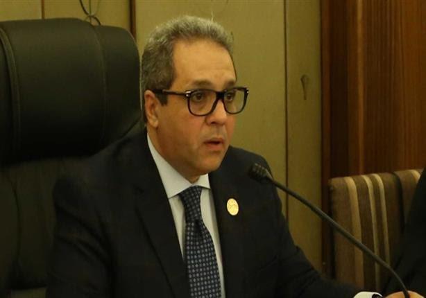 احمد حلمي الشريف رئيس الهيئة البرلمانية لحزب المؤتمر