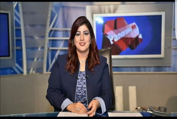 تغريد حسين رئيس قناه النيل الدوليه