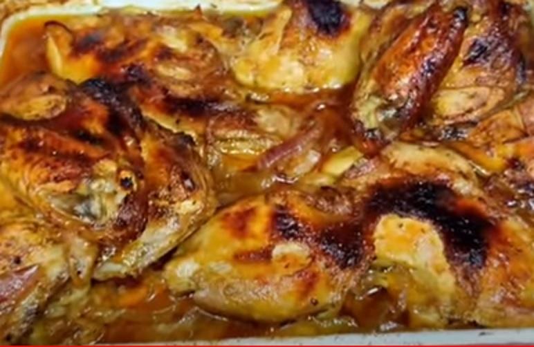 دجاج بخلطة الليمون