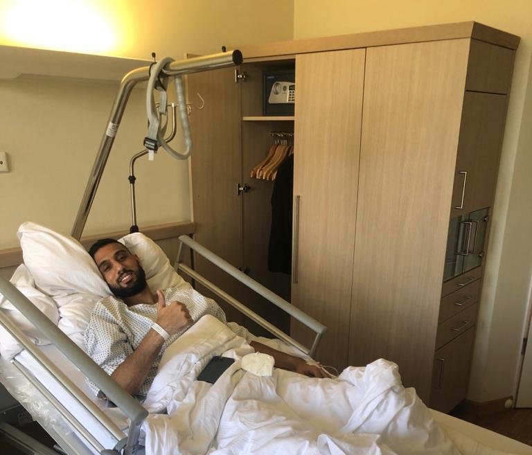 الشناوي يجري جراحة الرباط الصليبي في ألمانيا