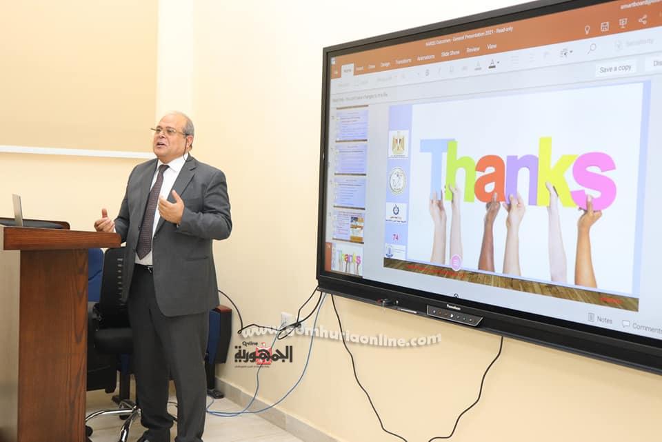 الدكتور هشام عبد الخالق رئيس جامعة الدلتا التكنولوجية بقويسنا المنوفية