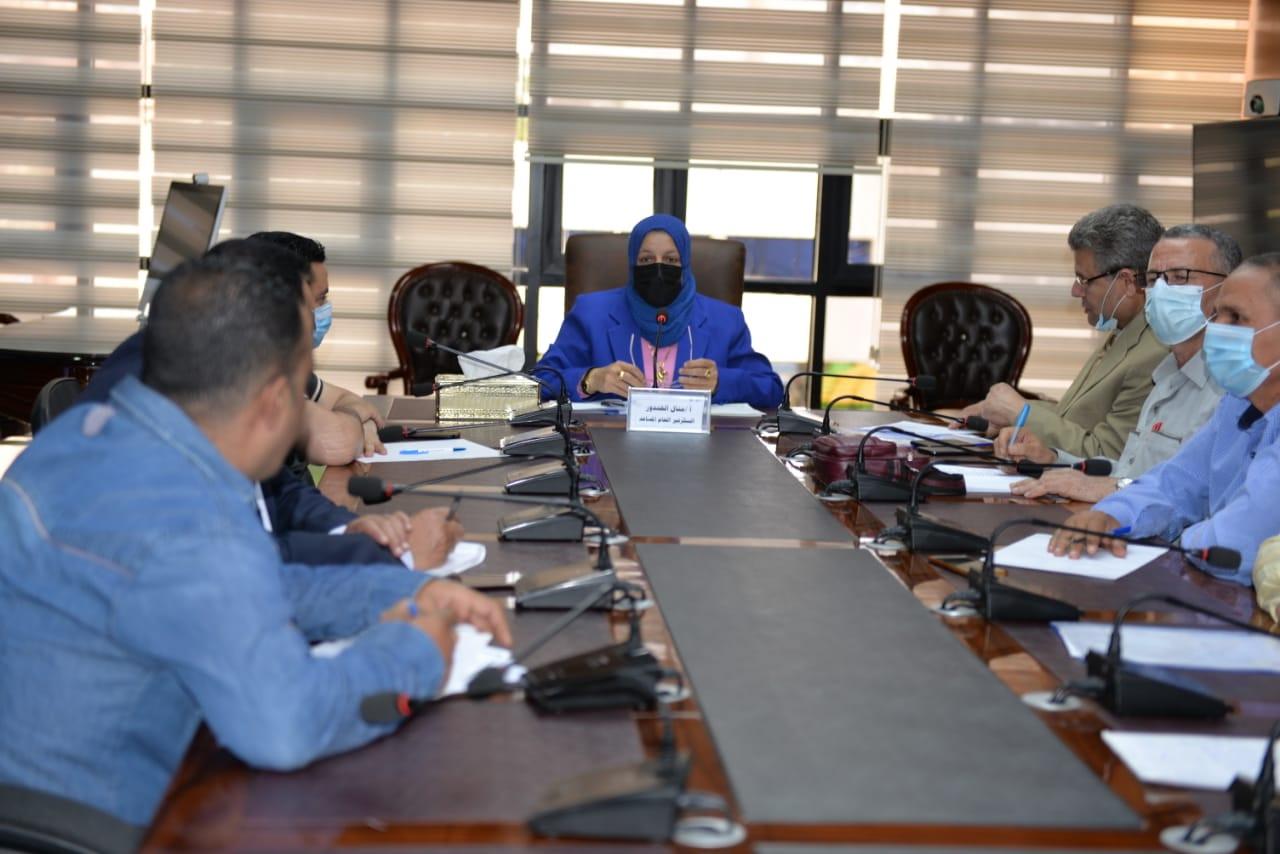 اجتماع السكرتير العام المساعد برؤساء المراكز