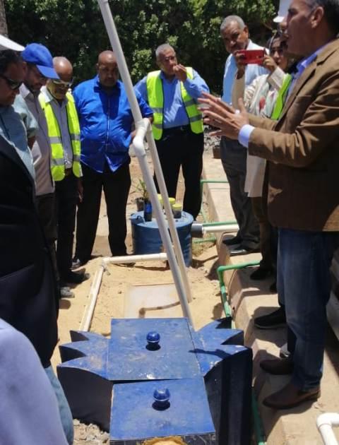الري تنفذ استثمارات بـ ٧٠٠ مليون جنيه بمحافظة اسوان لحمايتها من السيول