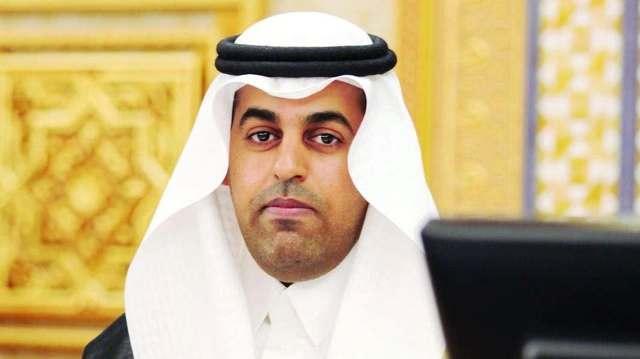 الدكتور مشعل بن فهم السُّلمي رئيس البرلمان العربي