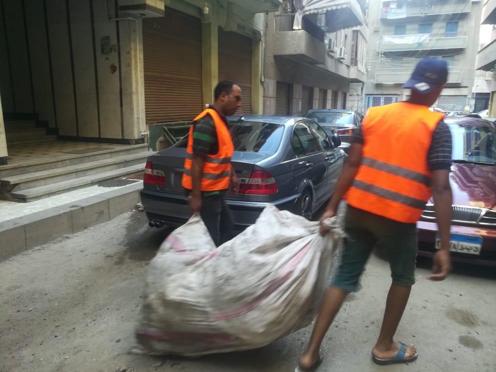 جمع القمامة