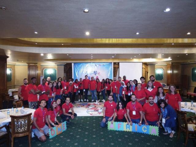 الريلا  ينظم تدريبًا لشباب 12 دولة أفريقية بـ  شرم الشيخ