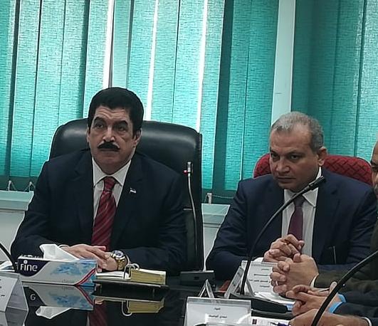 خالد صديق و محافظ القليوبية