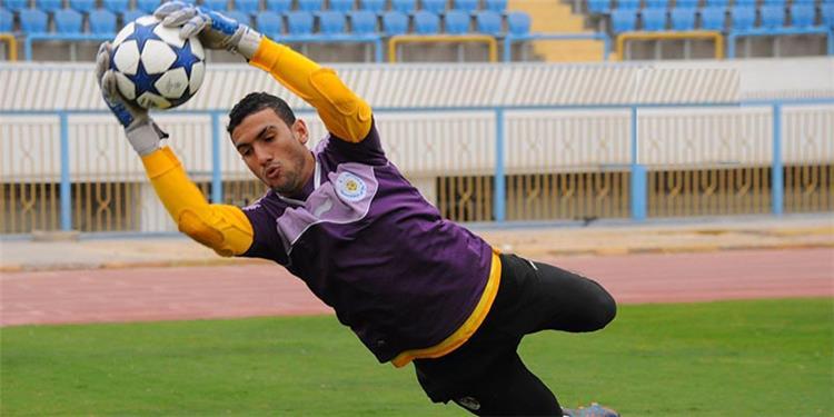 محمد عواد حارس مرمى النادى الإسماعيلى السابق