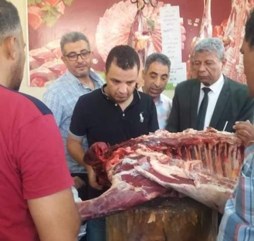 حمله من وزارة  التموين على اسواق بنى سويف