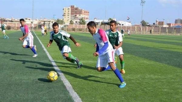فوز 5 فرق في دوري مراكز الشباب ببنى سويف