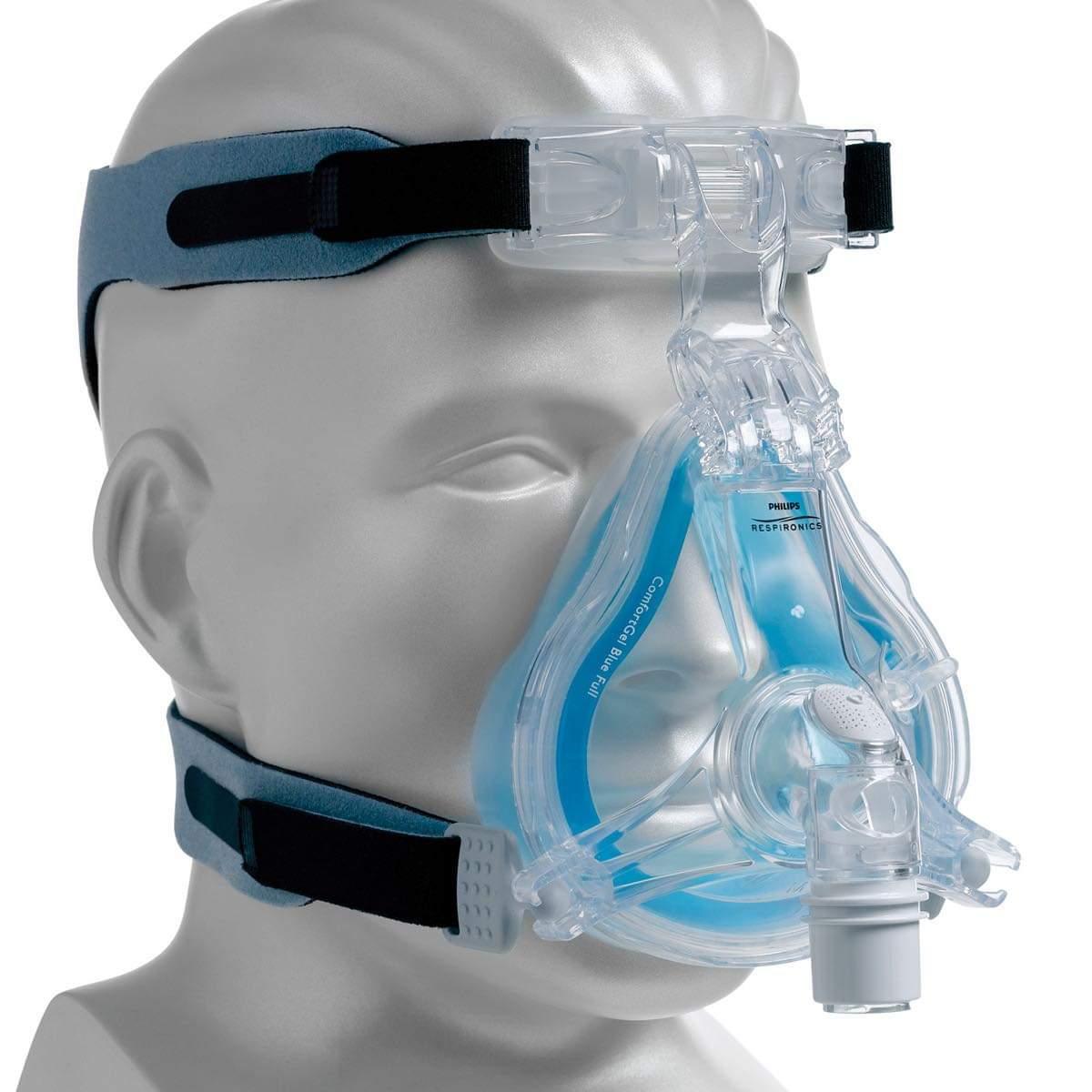 جزء من مستلزمات التنفس الصناعي المتبرع بها