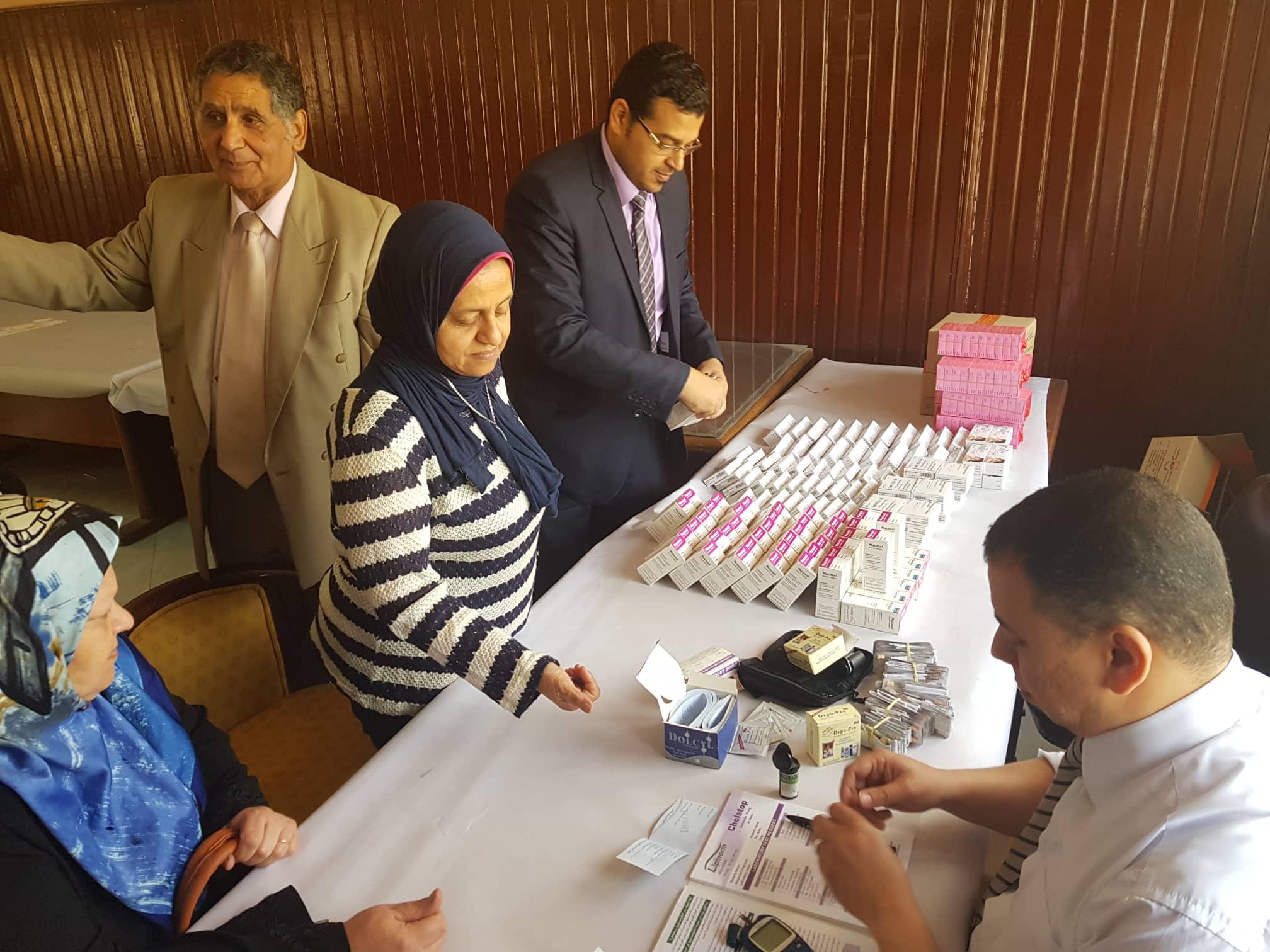 تحليل السكر لمديرة مركز النيل للأعلام