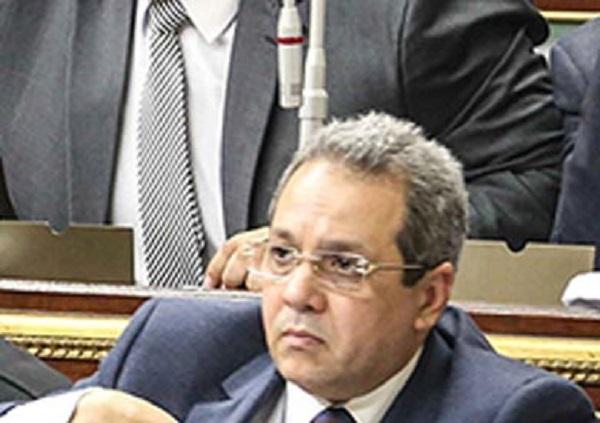 النائب أحمد حلمى الشريف رئيس الهيئة البرلمانية لحزب المؤتمر