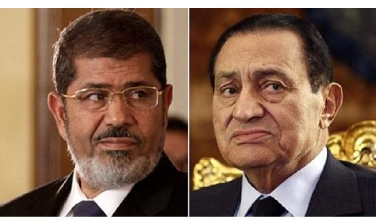 حسن مبارك ومحمد مرسي